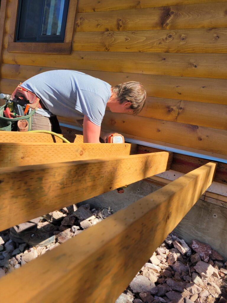 log siding maintenance